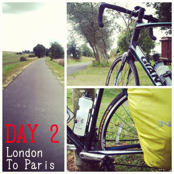 london to paris cycle ride